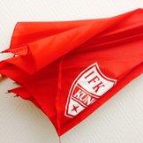 Paraply IFK (rött)